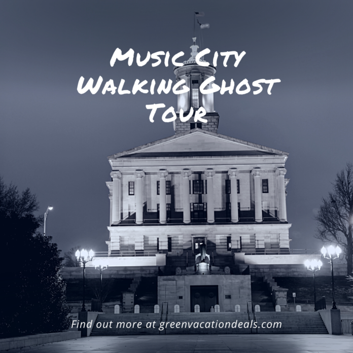 The Murder in Music City Walking Ghost Tour discount price