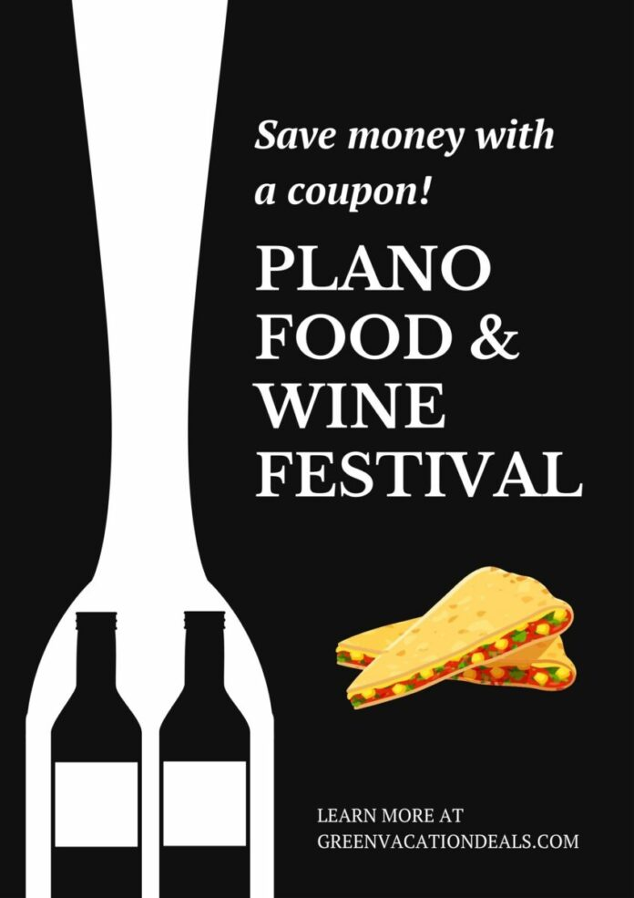 Discounted VIP admission to Plano Food + Wine Festival
