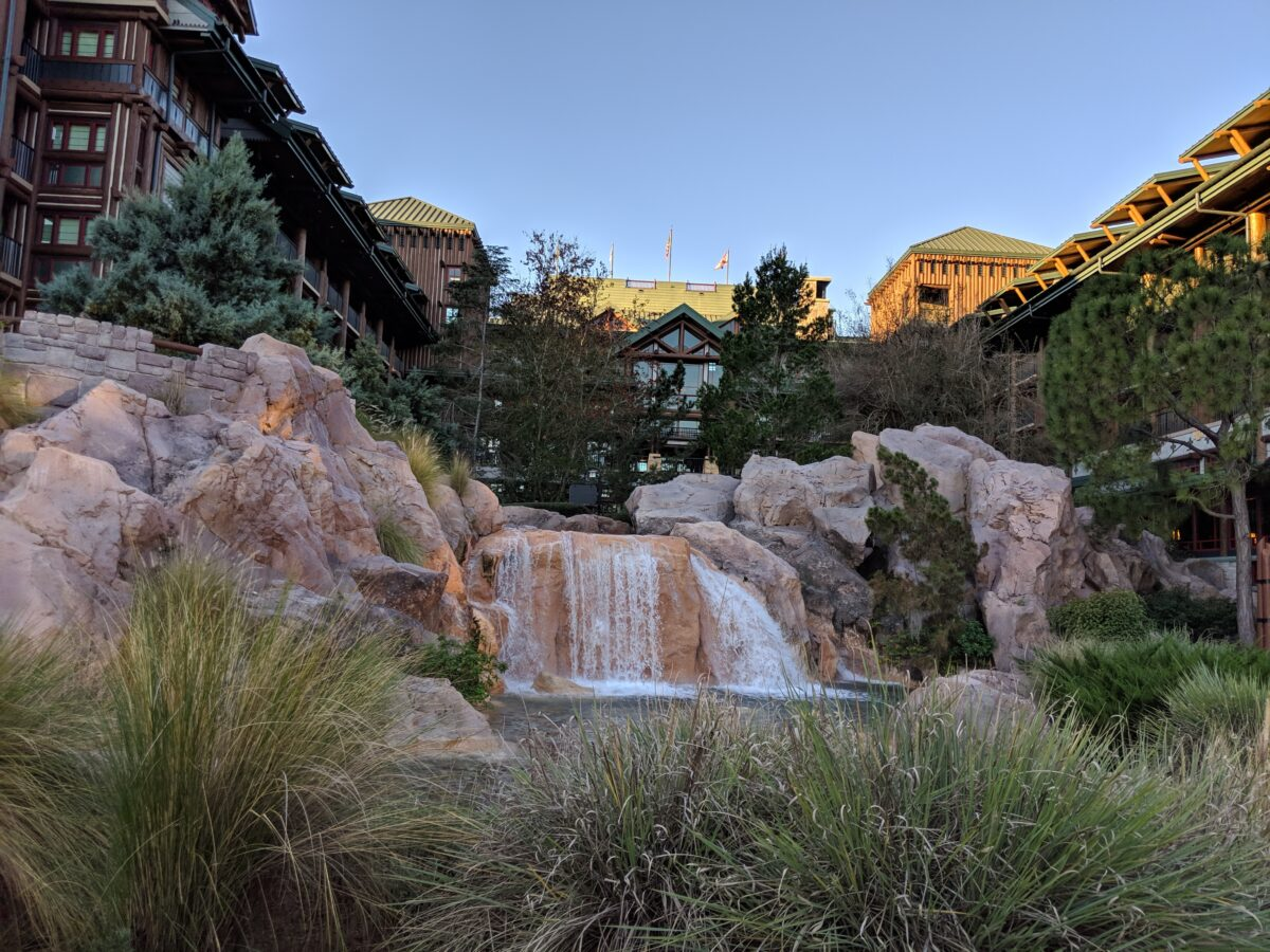 Wilderness Lodge near Magic Kingdom at the Walt Disney World Resort is not only a great hotel but a beautiful, peaceful hotel