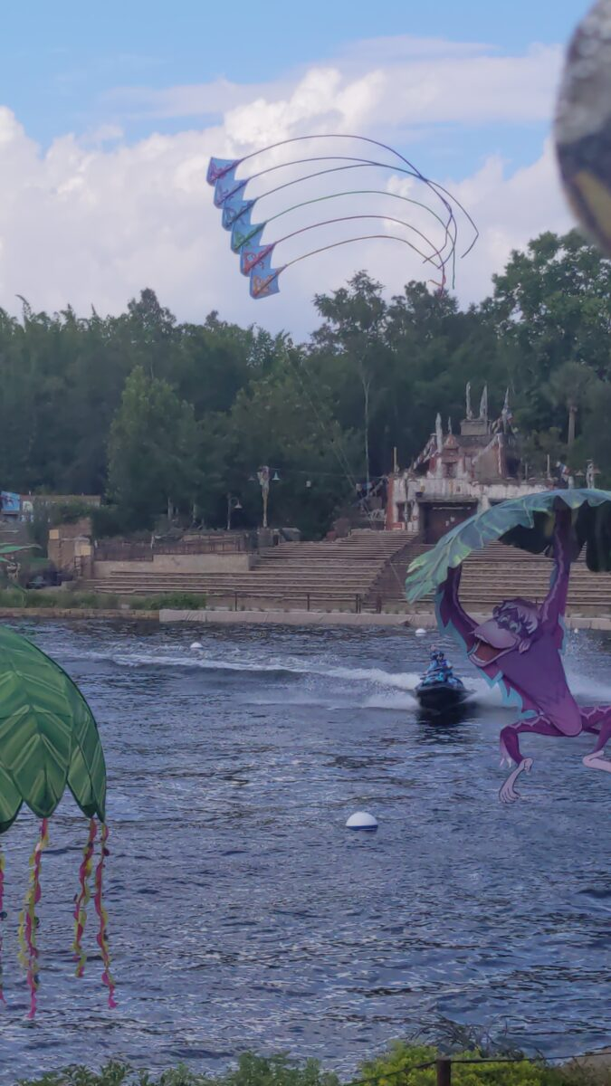 Kite Tails in Animal Kingdom was added for their Disney World 50th Anniversary event in Orlando, FL