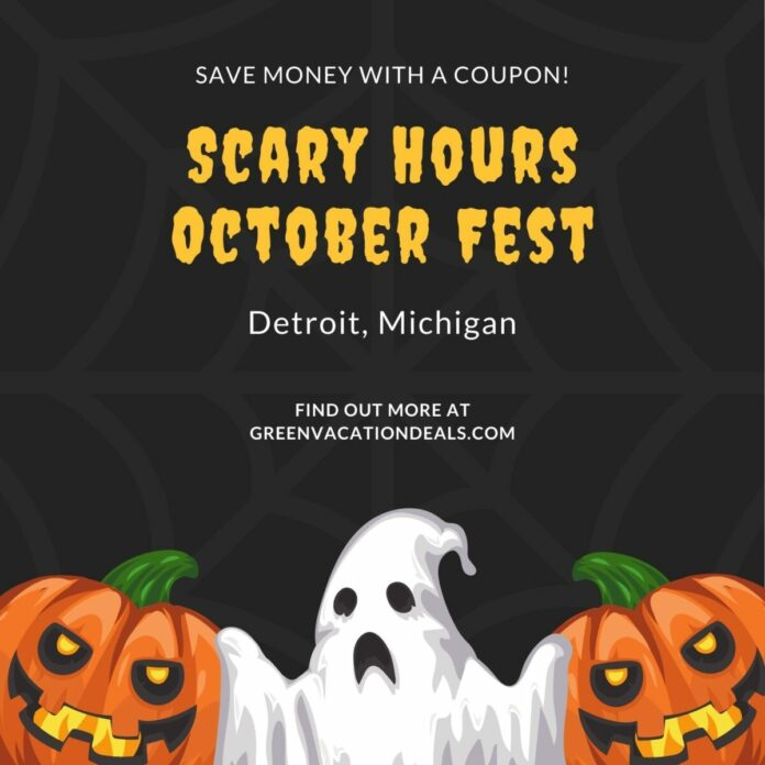 Discount general & VIP admission to Scary Hours October Fest Halloween Party at Artists Village Detroit