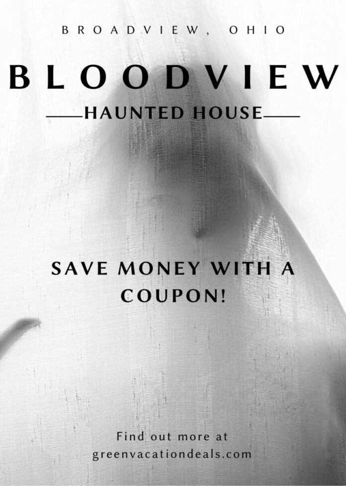 Discounted ticket for Halloween event Bloodview Haunted House in Broadview, OH