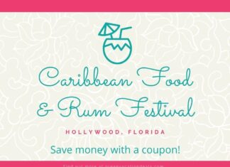 Discount ticket for Caribbean Food & Rum Festival in South Florida