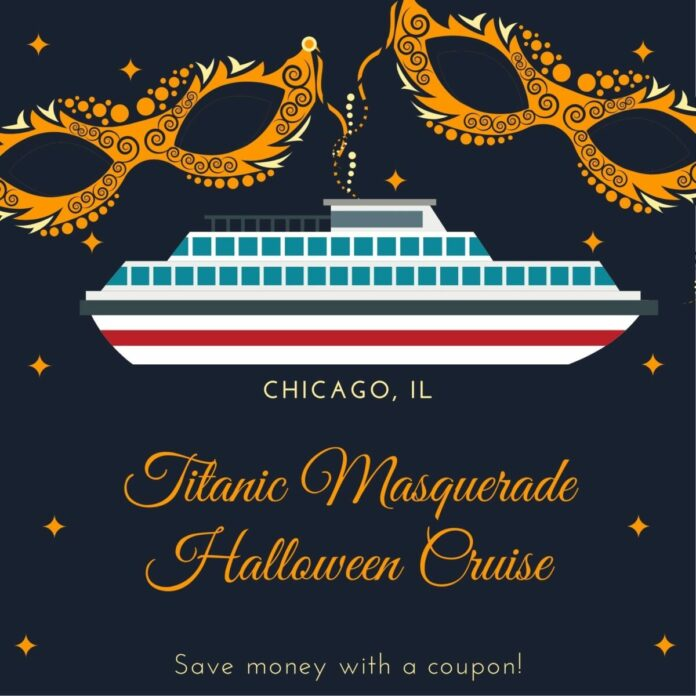 Discounted Chicago Halloween cruise themed to Titantic