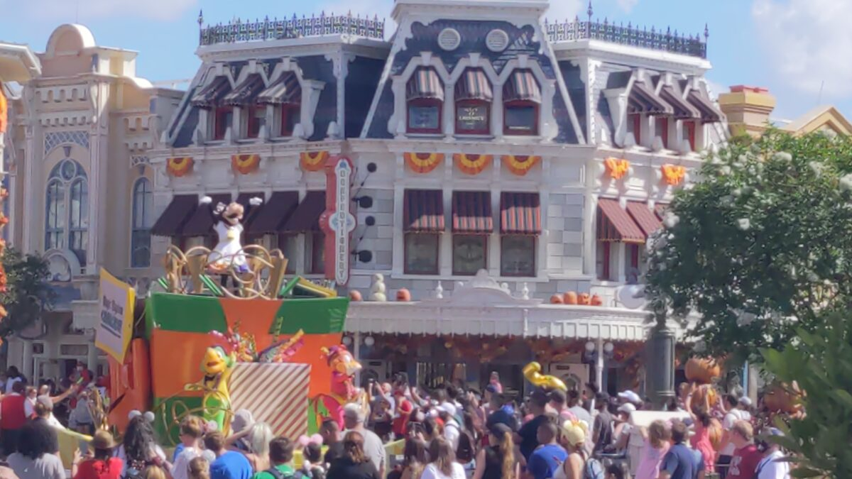 The Walt Disney World Resort's 50th Anniversary Celebration has new things for guests like a character cavalcade in Magic Kingdom