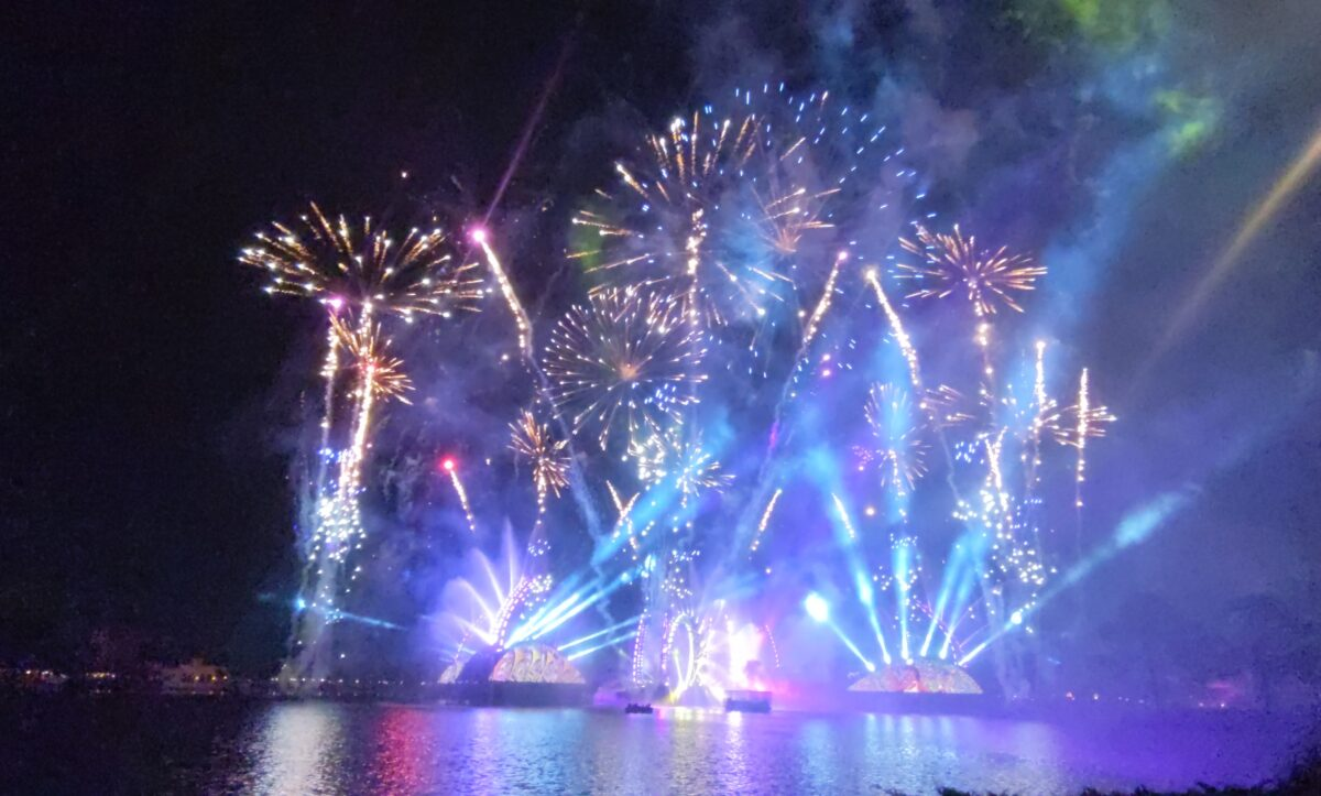 Find out our secret to getting the best view of Epcot's fireworks show at Walt Disney World in Orlando, Florida