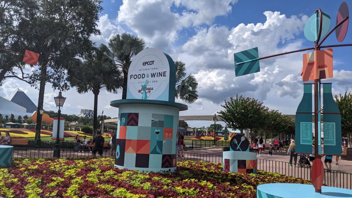 We examine & review the different marketplaces at Epcot International Food & Wine Festival at Walt Disney World Resort in Orlando