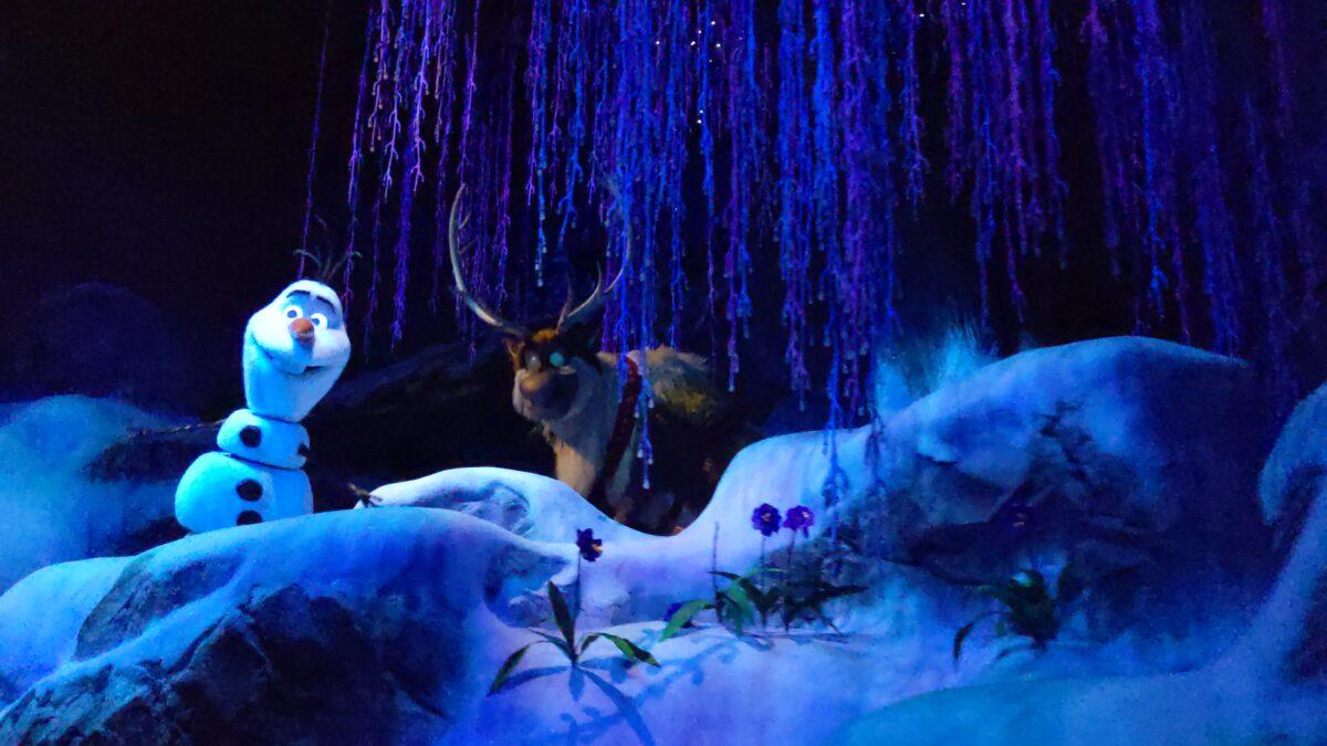 Frozen Ever After ride at Epcot in Walt Disney World Resort in Orlando Florida