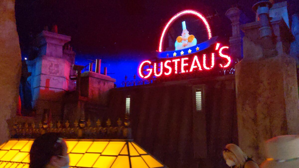 Arriving at Gusteau's was my favorite part of the new Disney World ride Ratatouille