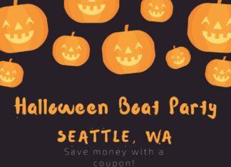 Halloween yacht party Seattle WA discount ticket