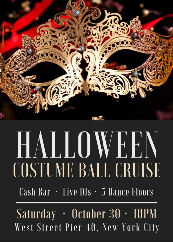 NYC Halloween Costume Ball Cruise at West Street Pier 40 discount ticket