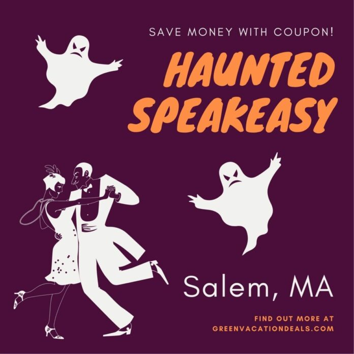 Discounted admission ticket to Haunted Speakeasy in Salem, MA