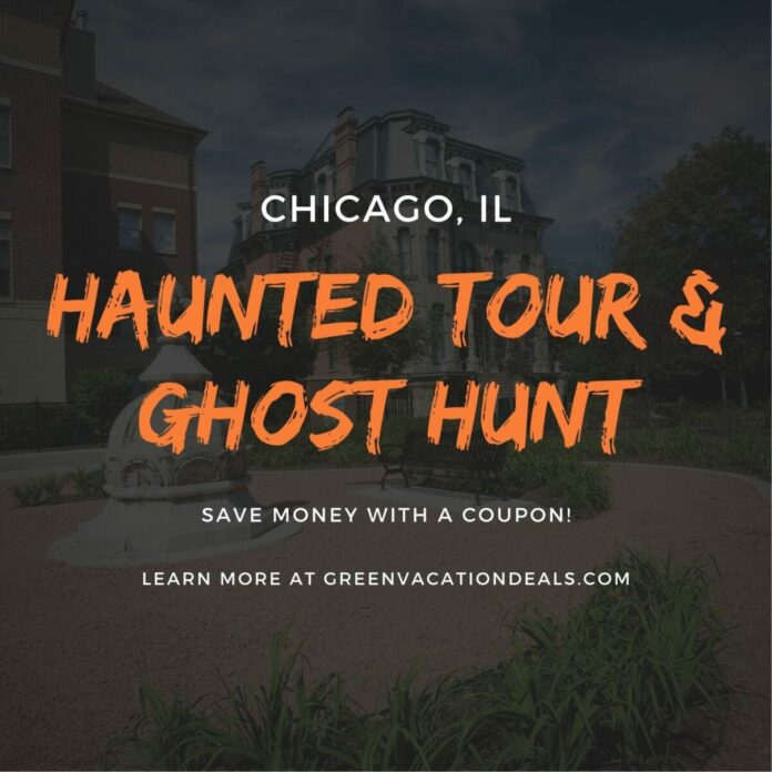 Promo code, coupon for Prairie Avenue Haunted History Tour and Ghost Hunt in Chicago