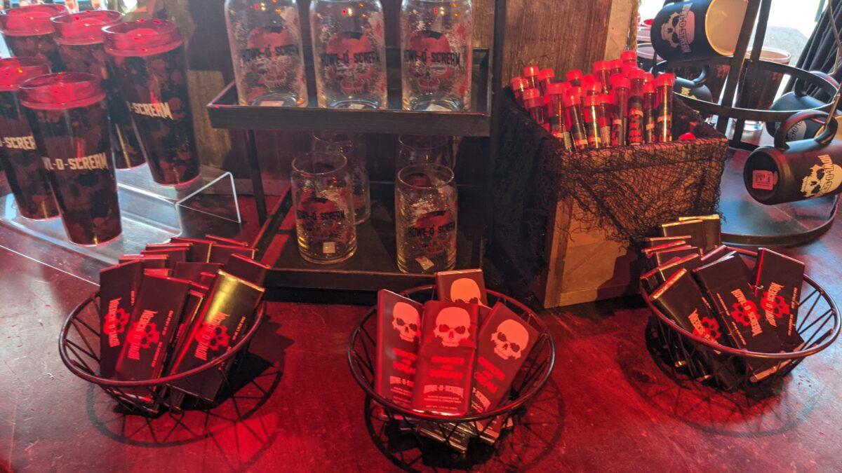 SeaWorld Orland theme park in Orlando, Florida has a whole gift shop dedicated to Howl o Scream merch