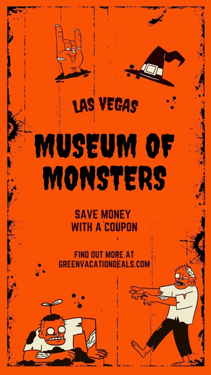 Discounted ticket for Museum of Monsters at Tuscany Hills North, Las Vegas