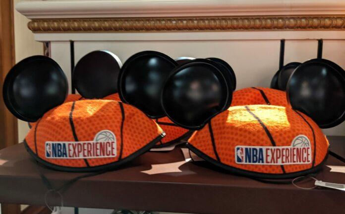 Best Mickey & Minnie NBA ears themed to Lakers, Nets, Suns, Bulls, Bucks, 76ers, Spurs, etc.