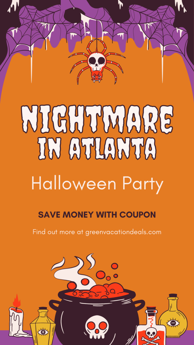 Discounted ticket for the Nightmare in Atlanta Halloween event