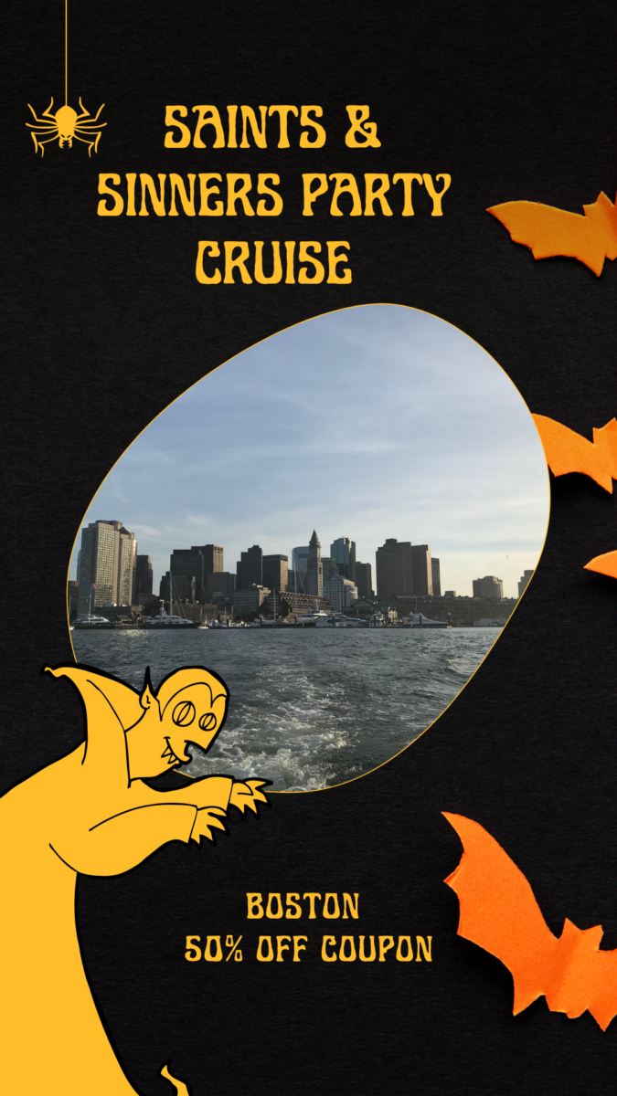 Discounted ticket for Halloween party cruise in Boston, Massachusetts