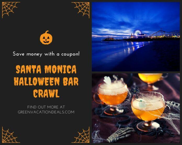 Santa Monica Halloween Pub Crawl discounted admission half off