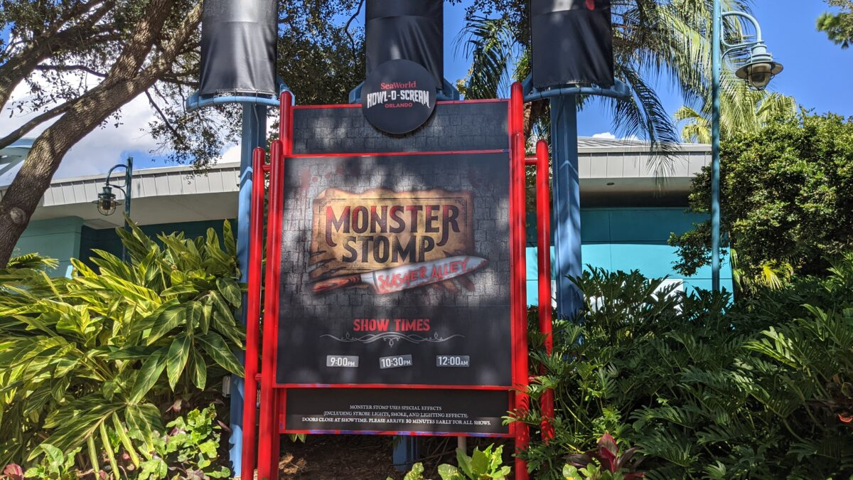 See Monster Stomp starring Jack the Ripper at Howl-O-Scream at SeaWorld Orlando's after hour Halloween event