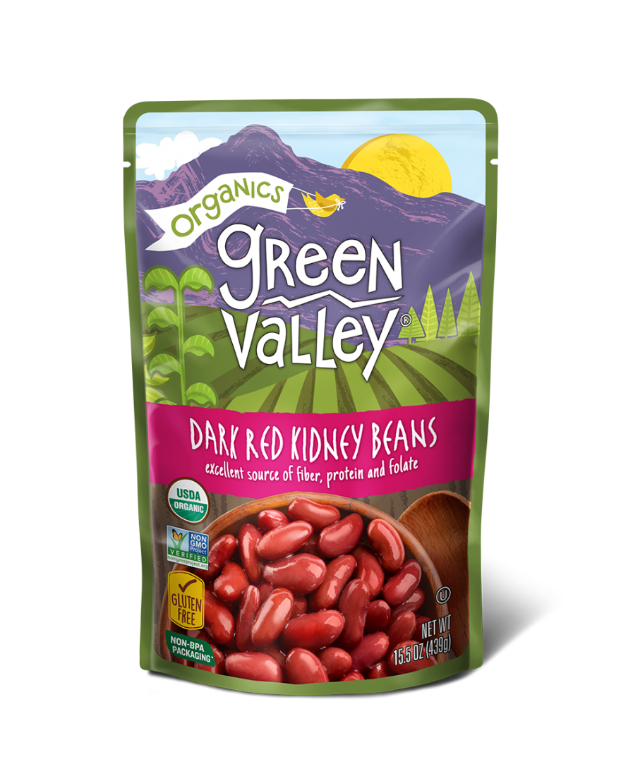 Dark Red Kidney Beans Green Valley Organics