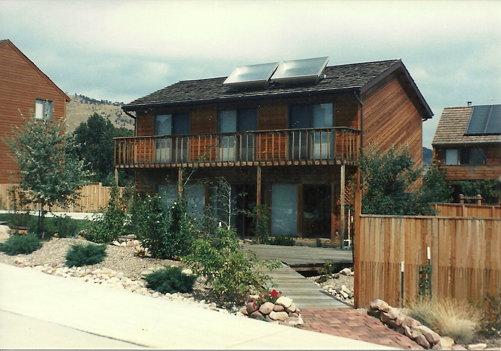 A Pive Solar Home from the 1980s - GreenBuildingAdvisor Beautiful House Designs Solar Panel Html on