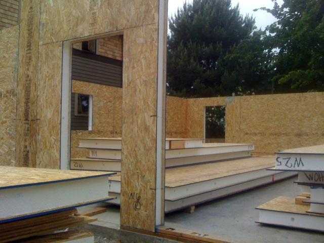 A net zero energy house for 125 a square foot for Sip home construction