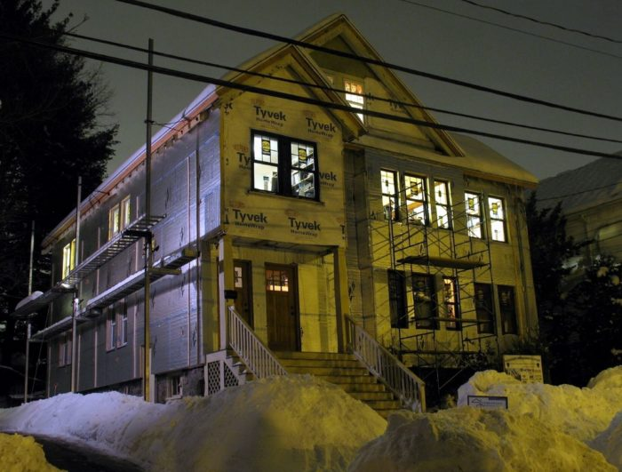 An Old House Gets A Superinsulation Retrofit