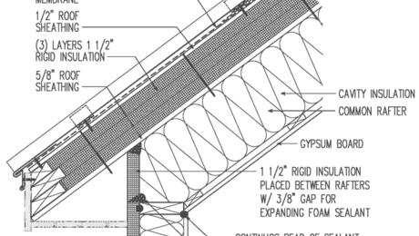 Metal Roof Unvented Drain Through Battens Exterior