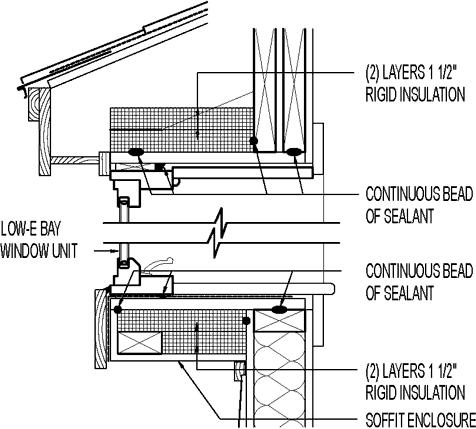 Exterior Insulation Retrofit For Existing Bay Window