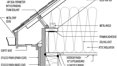 Vented Roof For Hot Climate Scissor Truss Asphalt