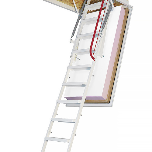 How to Insulate and Air-Seal Pull-Down Attic Stairs