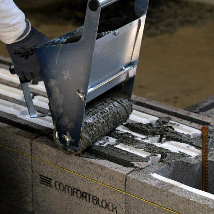 Maine Firm Develops a New Type of Insulated Block