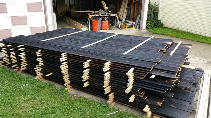 Urban Rustic: The Cedar Siding Is Here — Let's Burn It