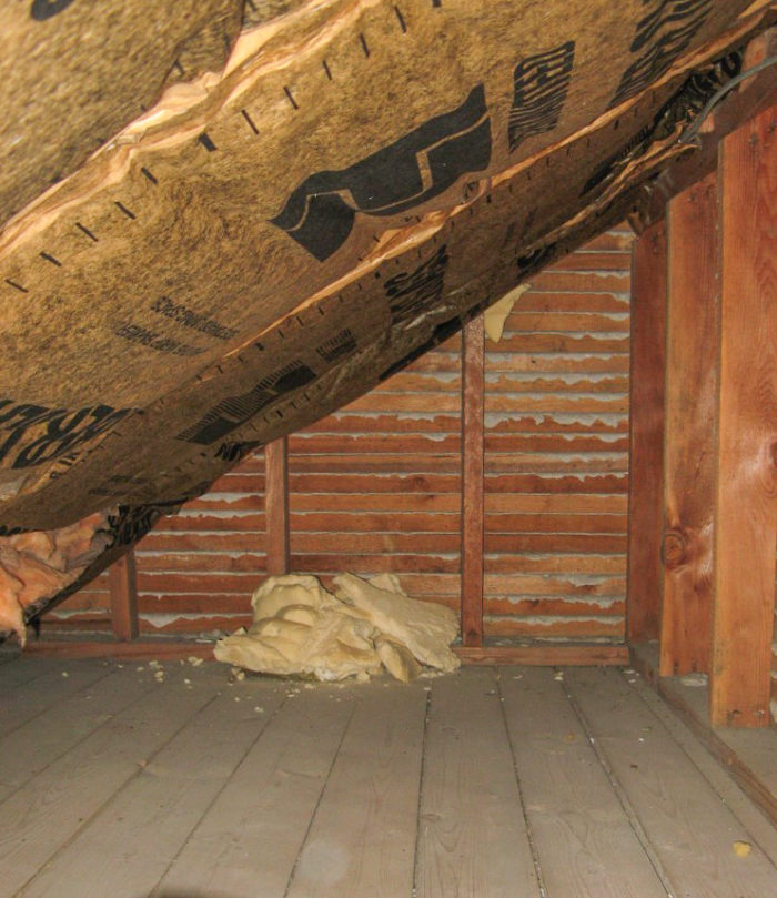 How To Insulate The Attic In A 1910 Remodel