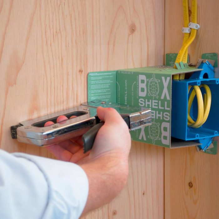 An Easy Way To Seal Electrical Boxes