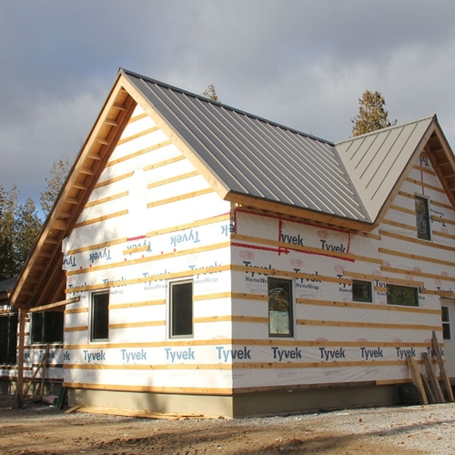 A Timber-Frame House for a Cold Climate — Part 1