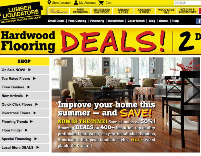 Lumber Liquidators Store Goes for LEED Certification