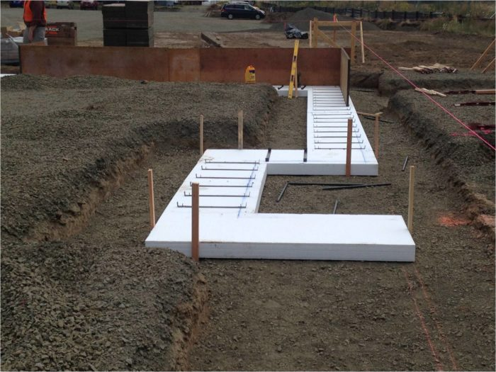 Placing A Concrete Foundation On Rigid Foam Insulation