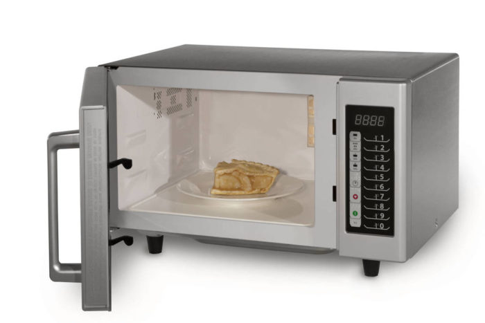 led fan editor microwave