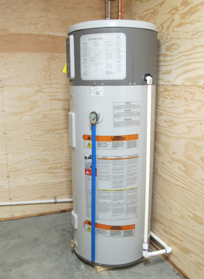 deciding on a water heater greenbuildingadvisor GE Water Heater Wiring Diagram we chose to install an electric heat pump water heater the 50 gallon geospring water heater is manufactured by general electric