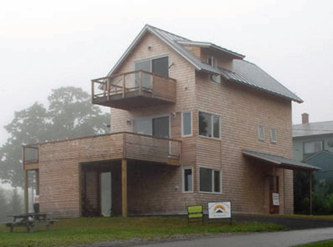Exceptional ... Example Of A Pretty Good House: This Home In Rockland, Maine, Has The  Following Specs: Slab: R 20; Walls: R 40 (double Stud With Cellulose);  Roof: R 60; ...