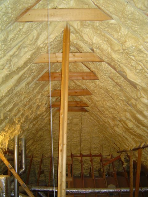Spray Foam Insulation Does Not Work With All Hvac Systems