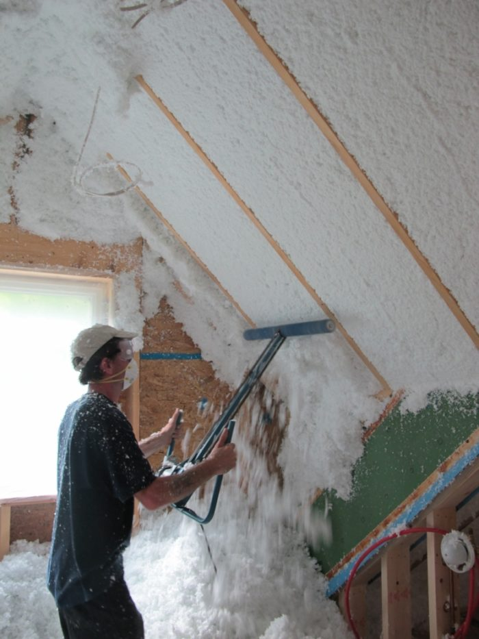 Getting to know spider insulation greenbuildingadvisor - Icon exterior building solutions ...