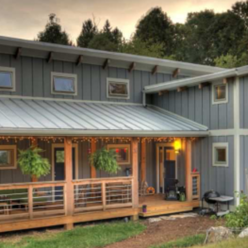 A phd and an architect build a net zero home