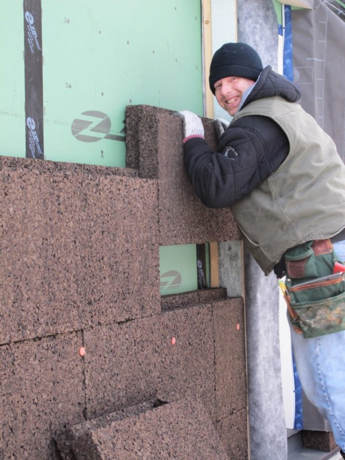 Installing Cork Insulation Greenbuildingadvisor