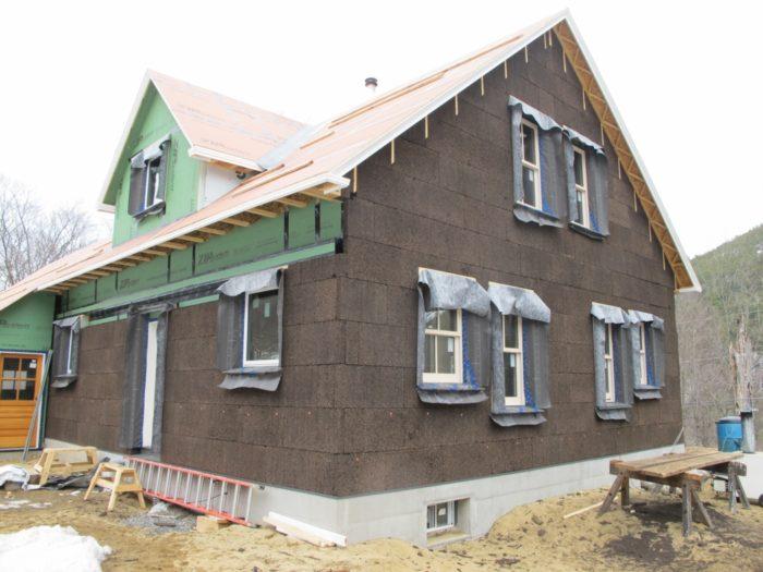 Installing cork insulation greenbuildingadvisor - Icon exterior building solutions ...