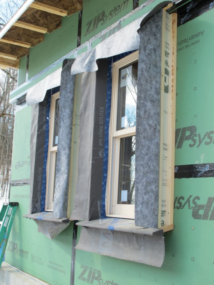 Extending window openings for a deep energy retrofit - Icon exterior building solutions ...