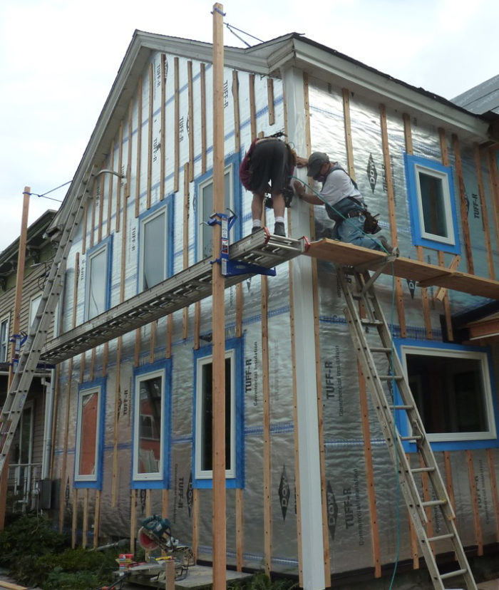 All About Rainscreens - GreenBuildingAdvisor on plank wood houses, plank siding for homes, plank siding options, plank siding texture,