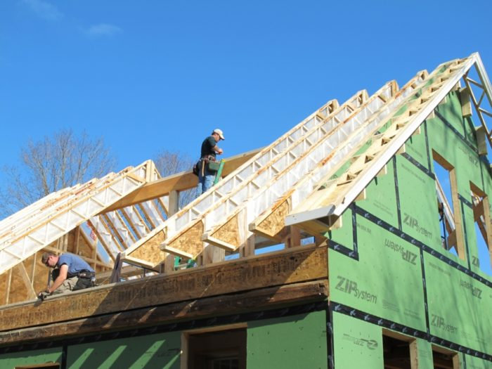 Using Open Web Trusses As Rafters For Superinsulated Roofs